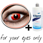 Red contact lenses (Red Devil) product image