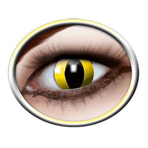 White contact lenses gelb (Yellow Cat) product image