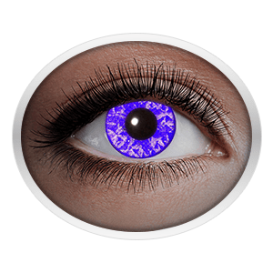 Violet contact lenses (UV Violet Diamond) product image