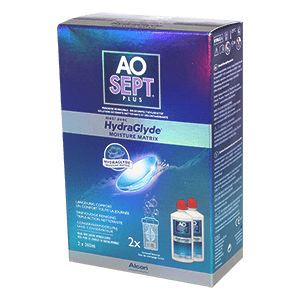 AOSEPT PLUS with HydraGlyde - 2 x 360ml product image
