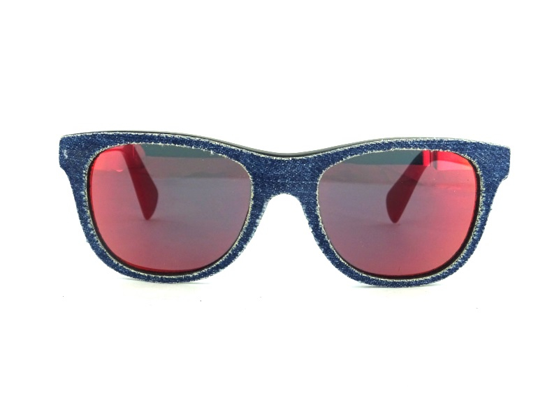 DIESEL DL0200 01X Red Denimeye