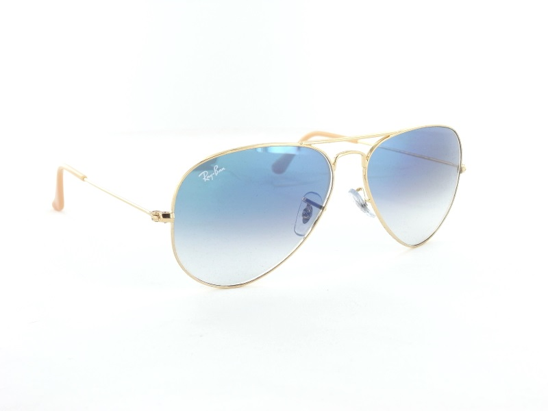 Ray Ban RB3025 001/3F 55 Large Aviator Pilotenbrille