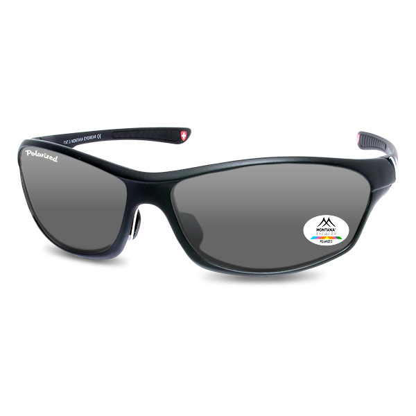 Sportbrille Outdoor Black Classic Small
