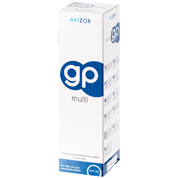 Avizor GP Multi 240ml All-in-One solution