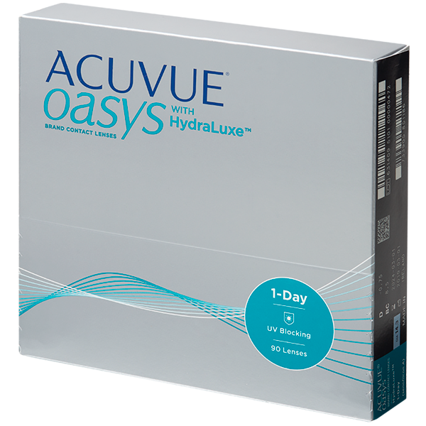 Acuvue Oasys 1-Day with Hydraluxe 90