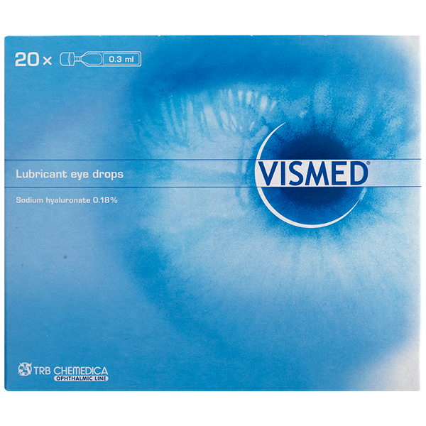 VISMED Eye Drops 20x0.3ml