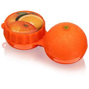 Optipak Lens Case Oranges